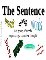Simple Sentence structure, ppt,.ppt