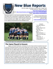 PR201 newsletter homework assignment completed