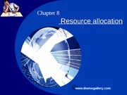 Chapter8    Resource allocation