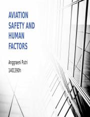 Aviation Safety n Human Factors