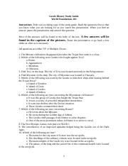 05 Study Guide Greek History.doc