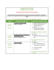 BIO100 Assignment Schedule Section 13324.doc
