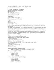 Greenhouse Effect Exam Study Guide