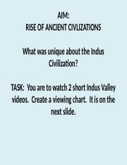 INDUS VALLEY CIVILIZATIONT VIDEOS.pptx
