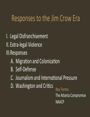 06 Jim Crow Era II