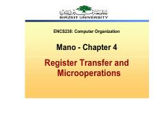 Register Transfer Language - ch4 lecture notes (1)