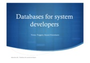 Databases session 4