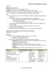 POL214 Exam Notes Pack