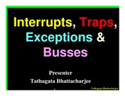 6-Interrupts, Traps & Exceptions