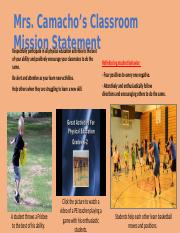 Classroom Mission Statement Multimedia Poster Template.pptx