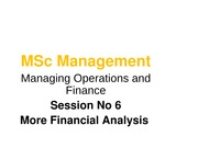 Lecture 6 Financial Analysis part2