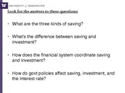 week3_Saving,Investment, and Financial system