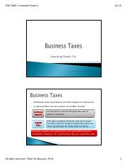 LG 2-6-  Business Taxes