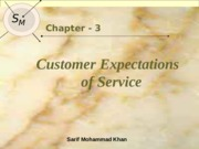 Lec 03 Customer Expectation
