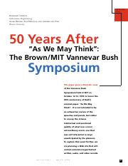 50 Years After-As We May Think Symposium.pdf