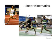 Linear Kinematics-1