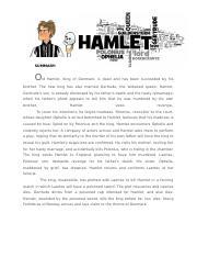 Hamlet and simba essay