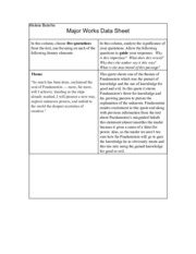 major works data sheet grapes of wrath The grapes of wrath /  uncle john accepts the joads' fate without too much of a fight—he goes with the flow and works with the hand that is dealt to him he can .