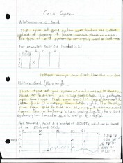 Grid System Notes