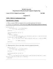 ECSE 323 Assignment 3 Solutions