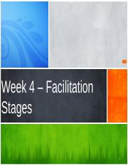Week 4 - Chapter Three - Facilitation Stages.pptx