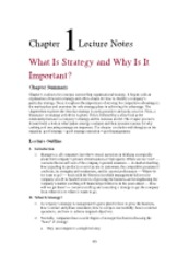 MKT 3000 chapter 1 lecture notes on Marketing