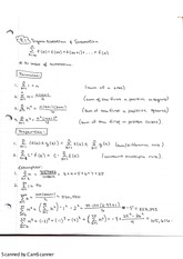 Sigma Notation and Summation