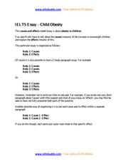 food additives essay ieltsbuddy com online ielts advice 2 pages task 2 sample essay child obesity