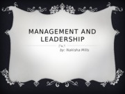 Management and Leadership (1)