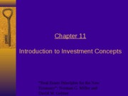 Condensed Chapter 11 Slides