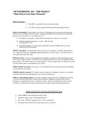 networking_handout