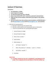 Lecture17_Exercisesa_SOLUTIONS