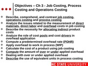 #07 CH3 MOODLE ACC200 Job  Process Cost - Fall 2014