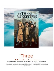 Three Musketeers.docx