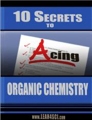 10 ways to ace orgo
