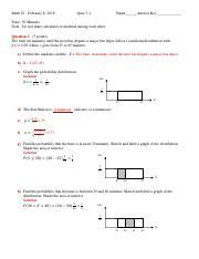 Quiz_3_Answer Key.pdf - Math 10 February 8 2018 Quiz 3-1 ...