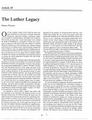 Luther+Legacy