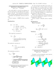 PHY 303L-Exam3