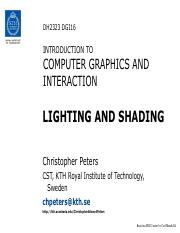 DH2323 DGI16 Lighting Shading.pdf