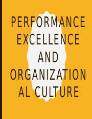 Performance Excellence And Organizational Culture.pptx