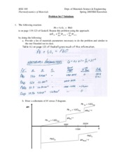 MSE 308 Problem Set 7 Solutions