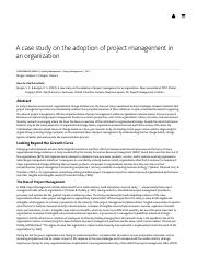 Adoption of Project Management in an Organization.pdf