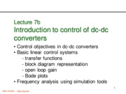 472 Lecture 07b Control introduction