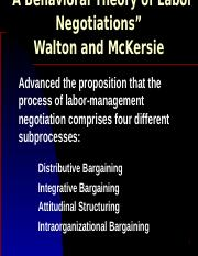 negotiation slides_behavioral theory of labor negatiations.ppt