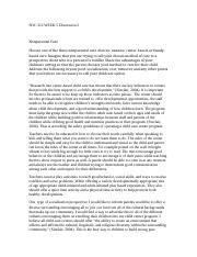 soc 313 week 5 discussion 1 essay - 573 words Has to be 300-350 wordsrefer to the information in the introduction to the miller family document for this discussion, choose one of the following family members currently experiencing issues with substance abuse and complete the discussion according to the instructions belowoption 1: lucy miller - as we learned in discussion 1 this week, this 20-year-old college student has recently.