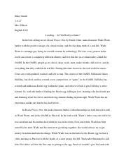 ready player one essay