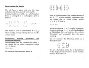 Review of Matrices_PRS