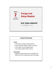 S2014_Lec-02_Energy-Delay-Models