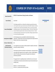 --FXT2 Course At a Glance.docx