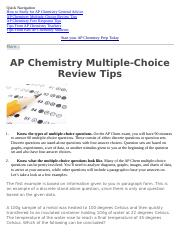 AP Chemistry Multiple-Choice Review Tips.docx